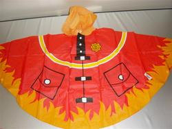 Brandweer Poncho