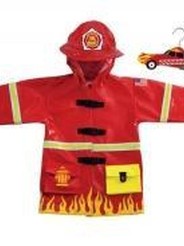 Brandweer regenjas