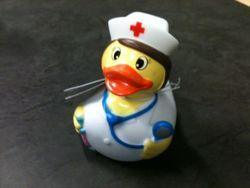 verpleegster eend
