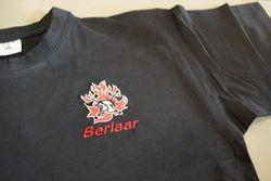 brandweerpolo met geborduurd logo + korpsnaam + naam