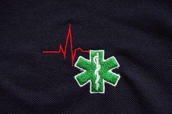 Polo met geborduurd logo verpleegkundige