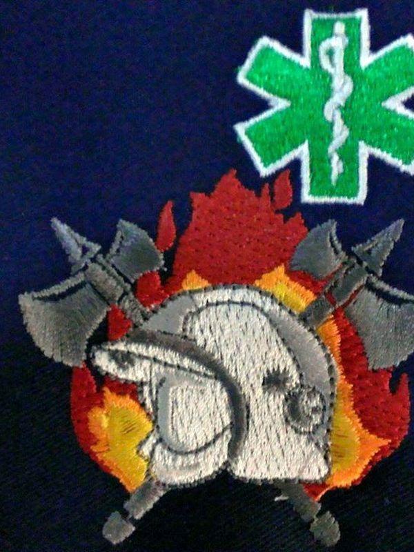 T-shirt brandweer-verpleegkundige nieuw