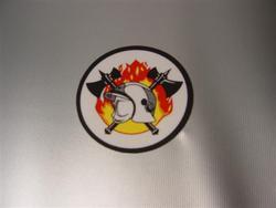 Sticker nummerplaat formaat 8 cm