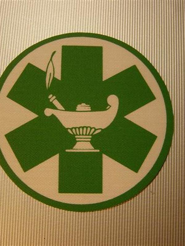 Strijklogo verpleegkundige