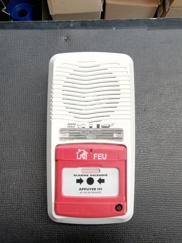 Brandmelder-evacuatie alarm autonoom
