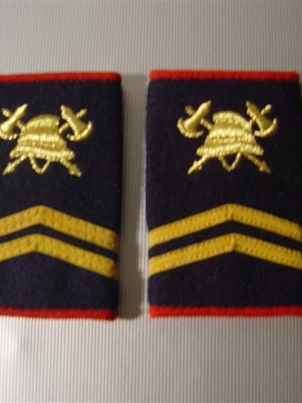 passanten 1ste sergeant geborduurd