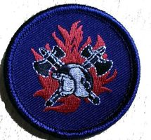 badge brandweer 5 cm opstrijkbaar