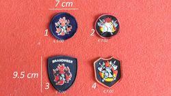 badges brandweer model 2