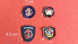 badges brandweer model 3