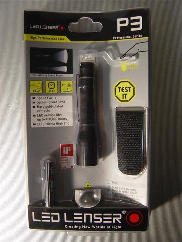 LED Lenser P3