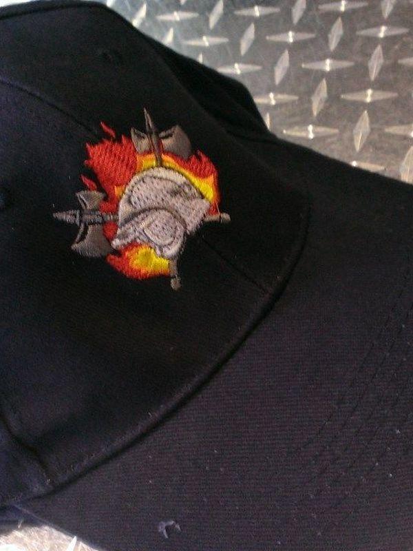 pet brandweer met logo 5 kleuren