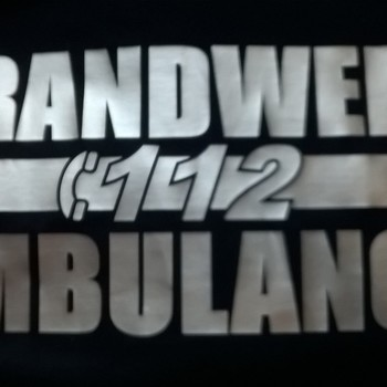 rugopdruk  BRANDWEER/112/AMBULANCE
