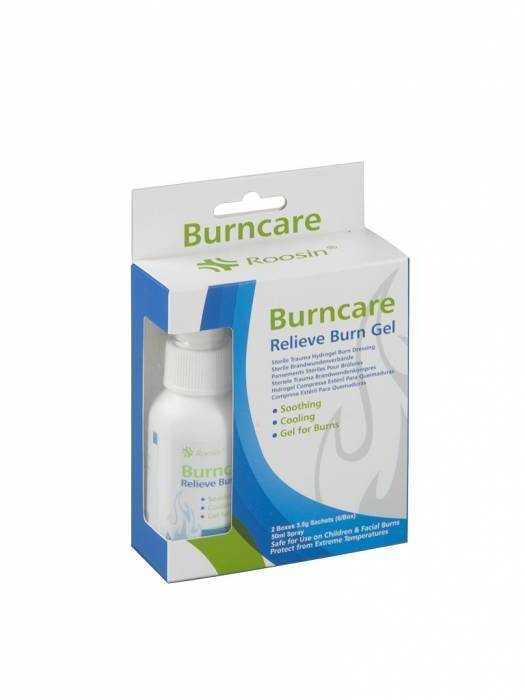 Burncare brandwondenset gel + spray