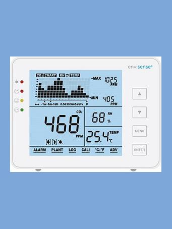 EnviSense CO2 Monitor  < meet de CO² in uw zaak >